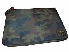 Polo Ralph Lauren Black Camo Camouflage Laptop Document Storage Zip Bag Case