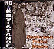 No resistance – messieurs prefear Bombs CD uk subs punk