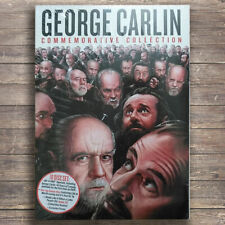 GEORGE CARLIN COMMEMORATIVE COLLECTION DVD Free Shipping US Seller Region 1