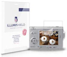 iLLumiShield HD Screen Protector w Anti-Bubble/Print 3x for Sony Cybershot T7