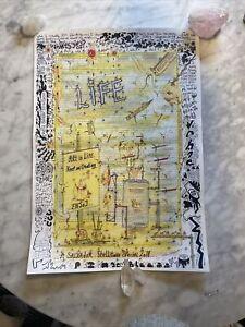 charles bronson art original signed collectors artwork charlie salvador RARE