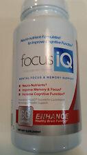FOCUS IQ BRAIN MEMORY W/ VINPOCETINE, BACOPIN by Kinfisher Media 60DAYS