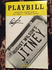 Andre Holland (from Oscar Award Best Picture Moonlight) Signed Jitney Playbill