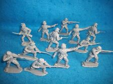 1/32 Timpo Civil War Union Toy Soldiers in grey color 12 in 4 poses
