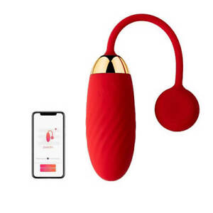 SVAKOM ELLA App Controlled Silicone USB RECHARGABLE Vibrating Egg DICREET  UK