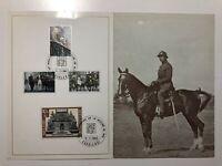 1968 Belgium Belgio Folder Victory Anniversary Anniversario Vittoria 1918 - 1968