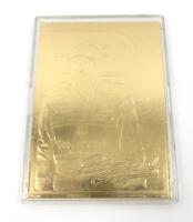 Dale Earnhardt #3 22 Karat Gold Foil Trading Card 7 Time NASCAR Champion 182-L