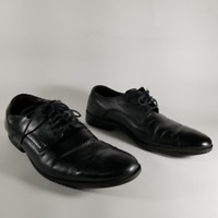 Cole Haan Black Leather Lace Up Oxford Shoes | Men's 8M | C12494
