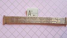 BRACELET MONTRE EXTENSIBLE PLAQUE OR LAMINOR  /  20mm / RZ76