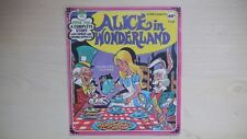 Peter Pan A Complete Story Record ALICE IN WONDERLAND 45 RPM EP