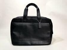 Coach Black Leather Briefcase  -NWT!!!