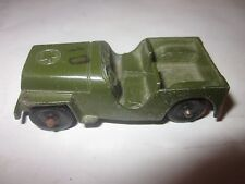 1940's Tootsietoy WIllys Army Jeep original condition EX