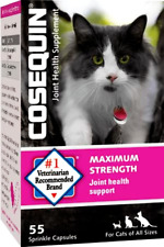 Cosequin Joint Health - Max Strength - #1 Vet Recommended - 55 sprinkle capsules