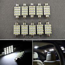 10x 41mm White Dome 3528 SMD 16 LED Car Festoon Interior Bulb Light Lamp 12V K8