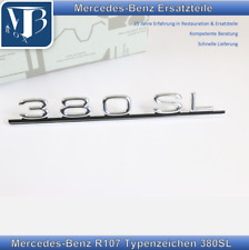 Original Mercedes-Benz R107 380SL Typenzeichen, Schriftzug zum stecken