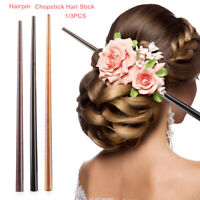 Sandalwood  Carved  Hair Accessories Hairpin Chopstick Hair Stick Styling Tools
