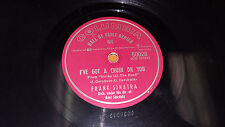 """FRANK SINATRA Birth Of The Blues / Got A Crush On You 10"""" Columbia 50028 (1954)"""