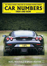 CAR NUMBERS: THEN AND NOW HARDCOVER – 1 JAN 2008, cherished plates book , NEW