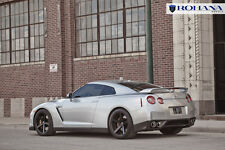 20x9 20x11 +10 Rohana RC22 5x114.3 Black Wheels Fit Nissan GTR R35 2010 Concave