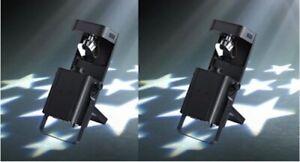 Acme Warrior Scan (PAIR) 50W Scanner Lighting Effect Disco DJ Light RRP £590