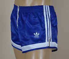 ADIDAS Glanz Nylon Shorts!!!  Vintage Short Sporthose blau-Gr.:M-4   (1051)