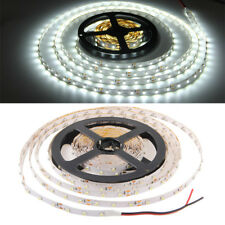 5M 3528 SMD RGB 300 LED Tira de Luces Cintas LED Flexibles Luz Blanco DC12V