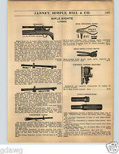 1936 PAPER AD Lyman Rifle Sights Sight Telescope Targetspot Scope Marble's