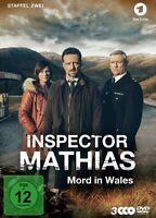 INSPECTOR MATHIAS-MORD IN WALES STAFFEL 2  3DVD NEW R.HARRINGTON/M.HARRIES/+