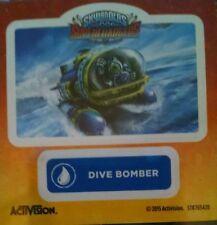 Dive Bomber Skylanders Superchargers Sticker Only!