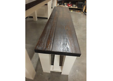 RECLAIMED PAINTED 5' LOW BENCH BESPOKE SIZES & COLOURS F&B CLUNCH STRAIGHT LEGS