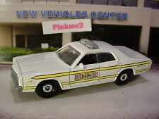 2016 Multi Exclusive '78 DODGE MONACO State POLICE CAR☆white;☆Loose☆Matchbox