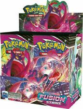 Pokemon Sword & Shield huelga Booster Box Sellado Nuevo Fusion barcos 11/12