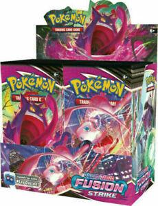 Pokemon Sword & Shield Fusion Strike Booster Box Sealed New Ships 11/12