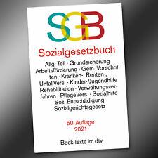 SGB SOZIALGESETZBUCH 50. AUFLAGE 2021 BÜCHER I-XII - Rechtsstand März 2021