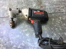 """VINTAGE. CRAFTSMAN. 3/8"""" VARIABLE SPEED  REVERSABLE DRILL WITH 90%  HEAD"""
