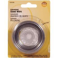 100 Pk Hillman 16 Ga X 25' Galvanized General-Purpose Steel Wire 123130