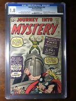 Journey Into Mystery #85 (1962) - 1st Loki!, 3rd Thor! - CGC 1.8 - Key!!!