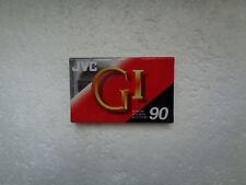 Vintage Audio Cassette JVC GI 90 * Rare From 1992 *