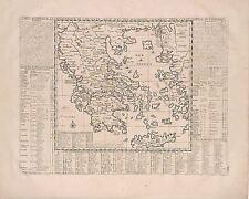 Antique map, Carte historique et geographique de l'ancienne Grece