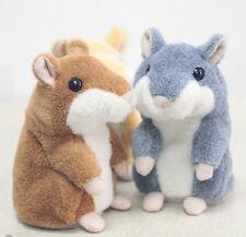 Hinreißend Mimikry Sprechen Reden Rekord Hamster Maus Plüsch KinderSpielzeug HM