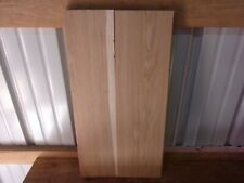 """2 PC RUSTIC HICKORY LUMBER WOOD KILN DRIED BOARDS 15/16"""" THICK LOT 1304R FLAT"""