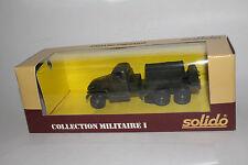 SOLIDO MILITARY #6044 GMC U.S. ARMY MILITARY GENERATOR / COMPRESSOR TRUCK, 1:50