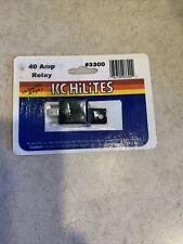 Vintage Kc HiLiTes 3300 40 Amp Light Relay Nos