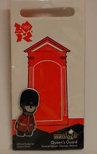 London 2012 Olympic Pin Badge - Wenlock Queen's Guard - New & Sealed