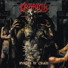 Kreator - Hordes Of Chaos LP / Red Vinyl + CD / Gatefold / New (2017) Metal