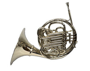 Schiller American Elite VI French Horn w/ Detachable Bell – Nickel