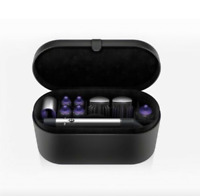 NEW SEALED Dyson Airwrap Styler COMPLETE Set Black Purple Case and Travel Case