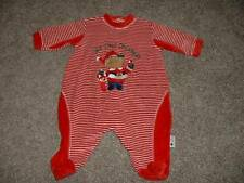 Little Me Baby First Christmas Velour Pajamas Sleeper Outfit Size 3 Months 3M
