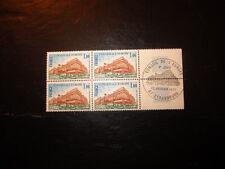 BLOC 4 timbres - YT 54 - 1er jour - FRANCE - neufs** -Conseil de l'Europe - 1977