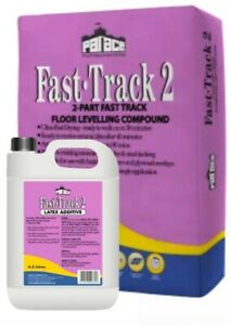Self levelling latex compound fast track. Bag And Bottle Pallet Deal